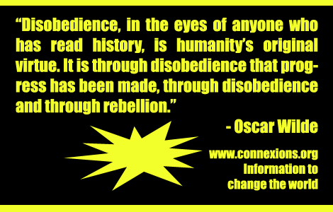 Oscar Wilde on Disobedience